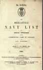The Mercantile Navy List